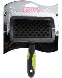 Zolux bursten - szczotka kauczukowa średnia.