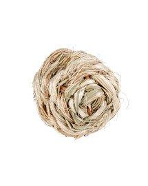 Piłka z dzwonkiem z trawy  śr. 10 cm