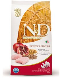 N&D low grain chicken & pomegrante small dog 2.5 kg