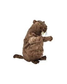 Zabawka  bóbr  pluszowy z dźwiekiem 40 cm