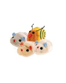 Zestaw pluszowych ruchomych zabawek 12 szt