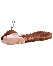 Zabawka  wiewiórka pluszowa z dźwiękiem 30 cm