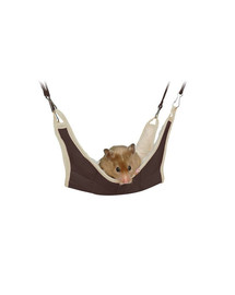 Hamak dla chomika i myszy 18 x 18 cm