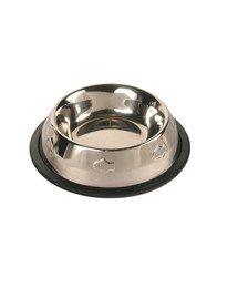 Miska metalowa dla kota 0.2 l /11 cm