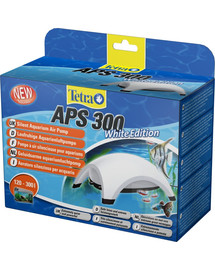 Pompa APS Aquarium Air Pumps biała APS 300
