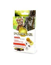 Obroża p/pchelna dla kota 30cm