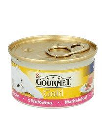Gold Mus z Wołowiną 85 g