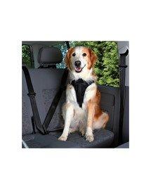 Szelki samochodowe dla psa ( M ) 50–65 cm / 20 mm