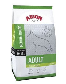 Original Adult Medium Chicken & Rice 12 kg