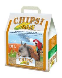 Chipsi mais 10l/4.5kg - podściółka z kolb kukurydzy dla gryzoni
