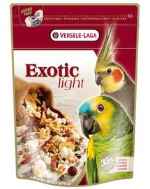 Exotic Light 750 g Mieszanka Z Prażonymi Ziarnami Dla Dużych I Średnich Papug