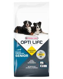 Senior Medium & Maxi - Karma Dla Starszych, Dorosłych Psów Ras Średnich I Dużych Drób 12,5 kg
