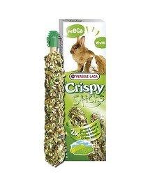 """Mega Sticks Rabbits-Guinea Pigs Green Meadow 140 g - 2 Mega Kolby """"Zielone Łąki"""" Dla Królików I Świnek Morskich"""