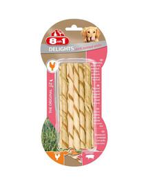 Przysmak Delights Pork Twisted Sticks 10 Szt.