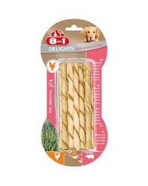 Przysmak Delights Pork Twisted Sticks 10 Szt.