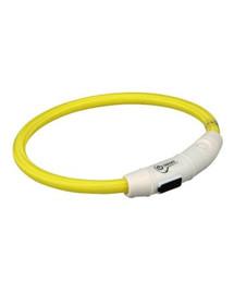 Pierścień Z Lampą Błyskową USB, L–XL: 65 cm/O 7 mm, Żółty