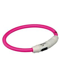 Pierścień Z Lampą Błyskową USB, L–XL: 65 cm/O 7 mm, Różowy