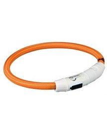 Pierścień Z Lampą Błyskową USB, L–XL: 65 cm/O 7 mm,Pomarańczowy