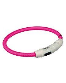 Pierścień Z Lampą Błyskową USB, XS–S: 35 cm/O 7 mm, Różowy