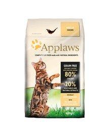 Sucha karma dla kotów  kurczak 0.4 kg