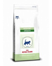 Cat pediatric growth 0.4 kg