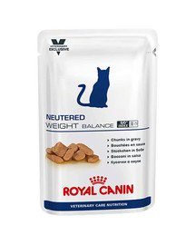 Cat neutered weight balance saszetka 12 x 100 g