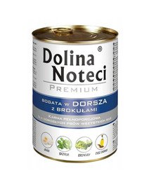 Premium Bogata W Dorsza Z Brokułami 0,4 kg