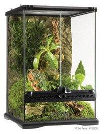Terrarium szklane MINI 30x30x45cm