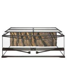 Terrarium szklane LARGE 90x45x60cm