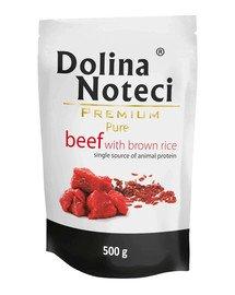 Premium Pure Wołowina Z Ryżem 0,5 kg