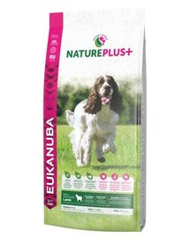 Nature Plus+ Adult Medium Breed Rich in freshly frozen Lamb 10 kg