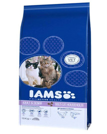 ProActive Health Adult & Mature & Senior Multi-Cat Households with Salmon & Chicken 15 kg