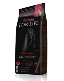 Dog For Life Lamb&Rice 3 kg