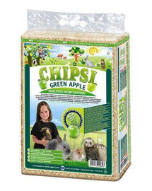 Chipsi Green Apple - trociny jabłkowe 60 l