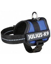 Szelki julius-k9  XL 82–118 cm niebieskie