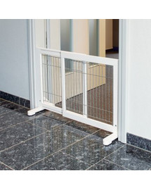 Barierka Metalowa 65–108 × 61 × 31 cm Biała
