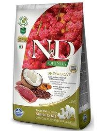 Dog Quinoa Skin & Coat Duck 2.5 kg