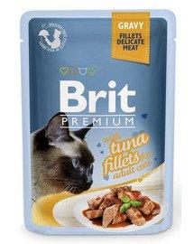 Premium Cat Fillets in Gravy tuńczyk 85g