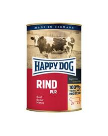 Puszka dla psa - wołowina (rind pur) 400g