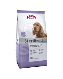 Health&care dog sterilised 12 kg