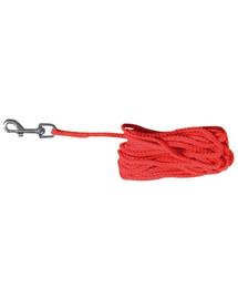 Linka nylonowa 10 m czerwona