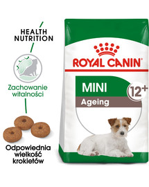 Mini Adult 12+ 1.5 kg karma sucha dla psów dojrzałych po 12 roku życia, ras małych