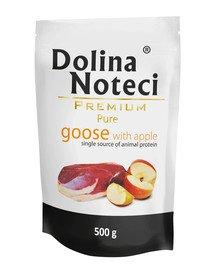 Premium Pure Gęś Z Jabłkiem 0,5 kg