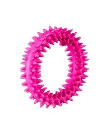 Mały ring XS dla szczeniąt różowy, 9,5 cm