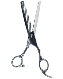 Profesjonalne nożyce do sierści - degażówki , 18 cm