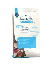 Sanabelle kitten drób 2 kg