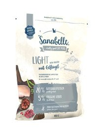 Sanabelle light drób 400 g