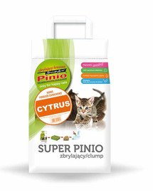 Super Pinio zbrylający kruszon cytryna 7 l