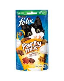 Party Mix Orginal Mix, o smaku Kurczaka, Sera i Indyka