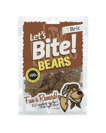Care Let's Bite Dog Bears 150g